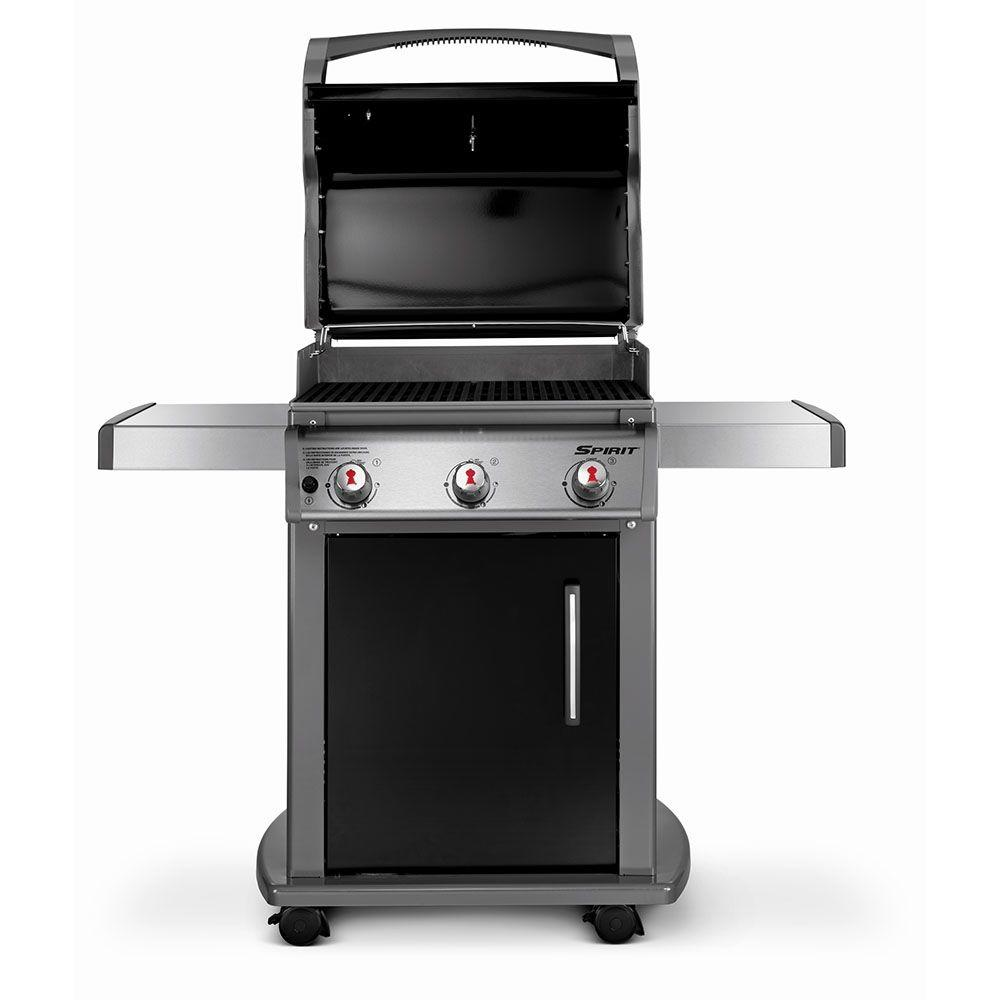 weber spirit e 310 3 burner propane gas grill capital patio flame shop. Black Bedroom Furniture Sets. Home Design Ideas